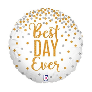 Nr. 108 folie best day ever 18 inch